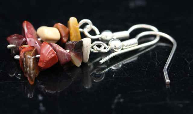 Moukaite Chip Earrings