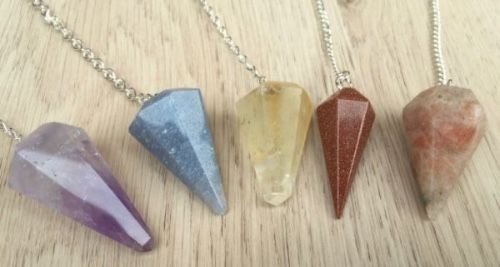 Crystal pendulums for sale